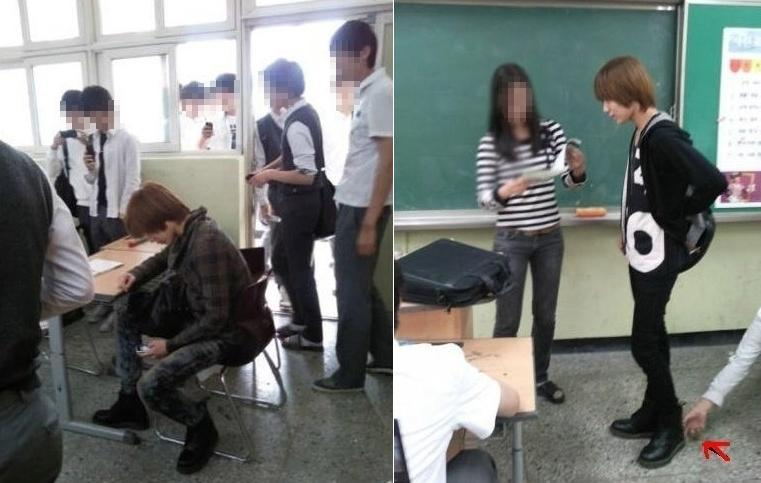 I AM KPOP GIRL : Onew And SHINee Walked TaeMin To School To
